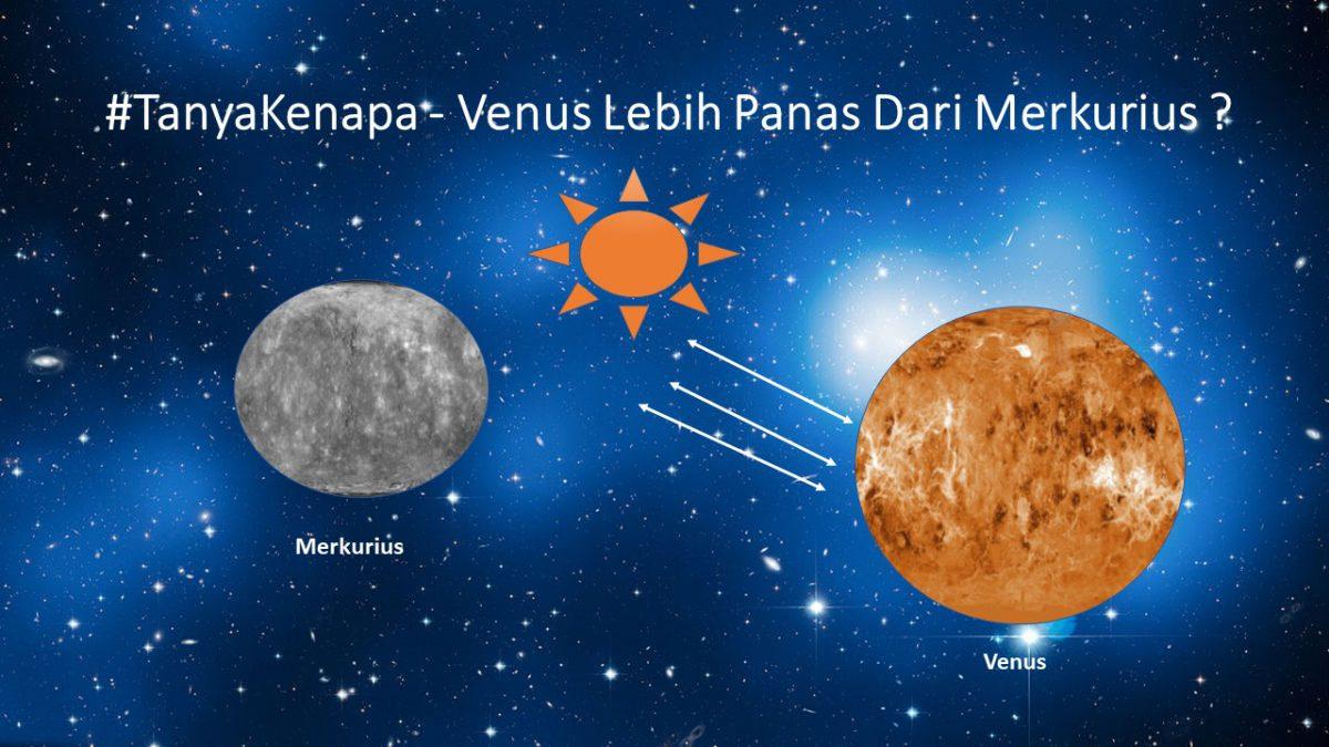 #TanyaKenapa - Venus Lebih Panas Dari Merkurius