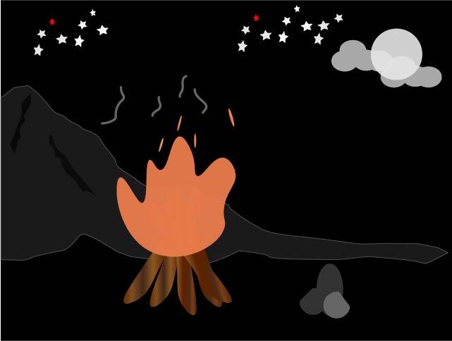 TanyaKenapa-Kayu Yang Terbakar Berderak
